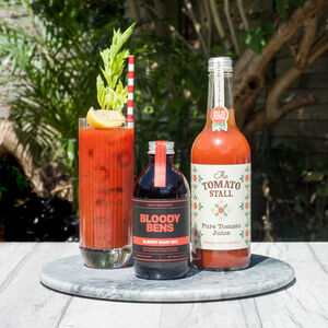 Bloody Bens Bloody Mary Mix With Large Tomato Juice