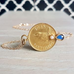 Golden Coin Pendant