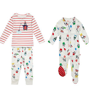 Sibling Penguin Pyjamas Set - nightwear