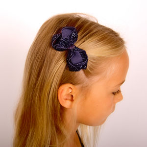 Glitter Bows Gift Set Various Colours - hair accessories