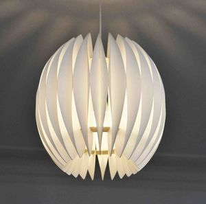 Tulip Pendant Lampshade - bedroom