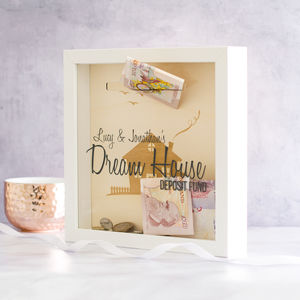 Dream House Fund Money Box Frame - picture frames