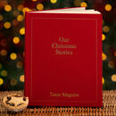 25 Years Of Family Christmas Memories Personalised Book