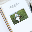 Personalised Letters To My Son Keepsake Notebook