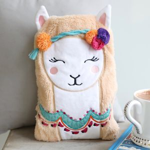 'Candy Pop' Llama Hot Water Bottle - hot water bottles & covers