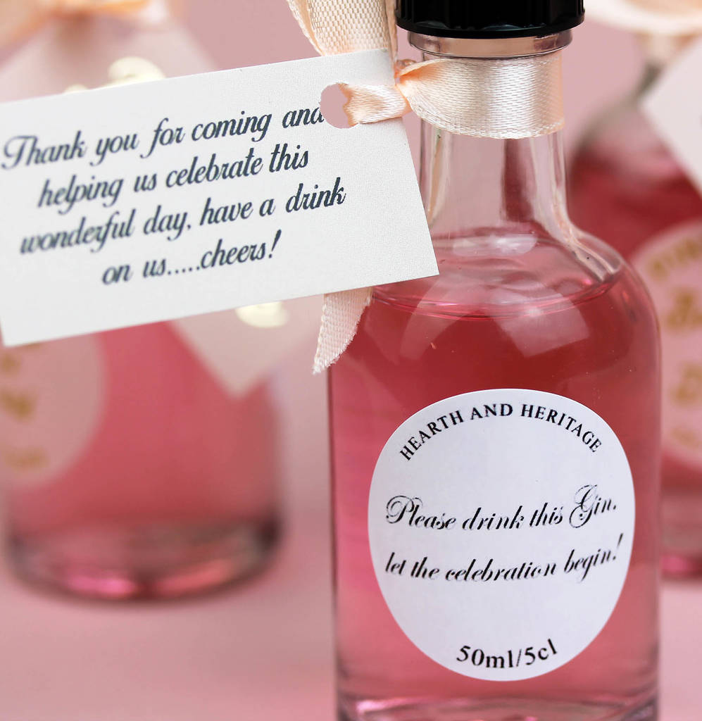Alcohol Wedding Favours | Midway Media