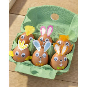 Easter Bunny Rabbit And Chick Egg Decorating Kit