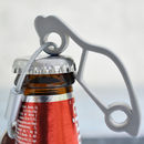 Sports Car Bottle Opener Keyring