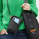 Luxury Leather Crossbody Phone Bag And Wallet