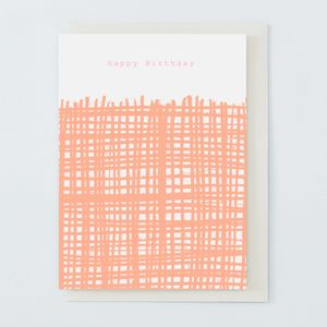 'Happy Birthday' Card