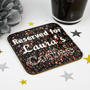 Personalised Coffee Coaster