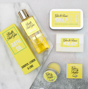 Gin Lovers Pamper Gift Box - beauty