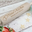 Nana Personalised With Love Rolling Pin