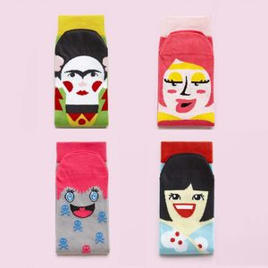 Set Of Four Cool Character Socks - women's fashion