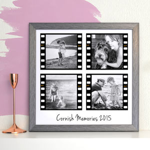 Personalised Film Strip Photo Collage - canvas prints & art