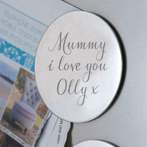Personalised Fridge Magnet - stocking fillers