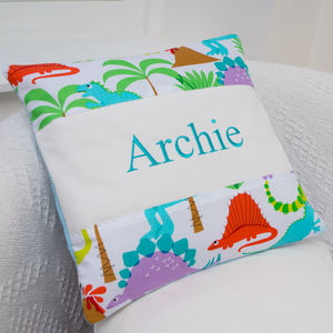 Dinosaur Cushion - personalised cushions