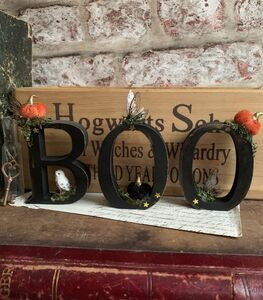 "Magical Halloween Decor ""Boo"" Letters"