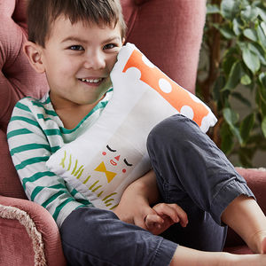 Alphabet Cushion - personalised gifts