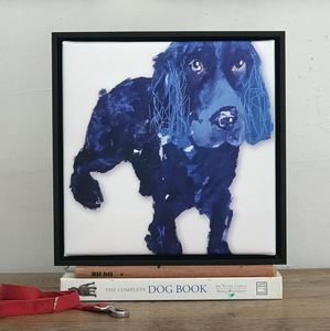 Cocker Spaniel Framed Canvas Print