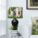 Tropical Giraffes Lampshade Bright Giraffes