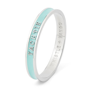 Personalised Enamel Bangle - best gifts for her