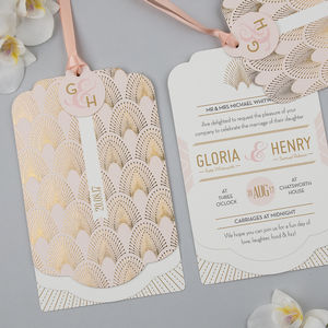 Decodence Foil Luxe Invitation Suite - wedding stationery