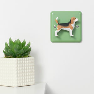 Beagle Dog Decorative Dimmer Light Switch - light switches & pulls