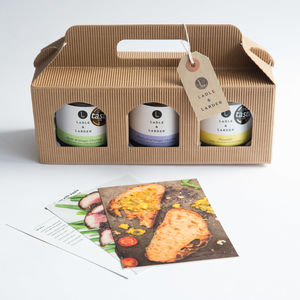 Cheese Fanatics Chutney Trio Gift Box