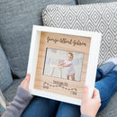 Personalised New Baby Engraved Photo Frame Gift