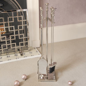 Mirror Finish Fireside Companion Set - kitchen