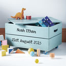 Personalised Toy Crate