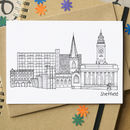 Sheffield Landmarks Greetings Card