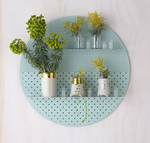 Mesh Circle Shelves - furniture
