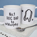 'No.One Dog Dad To..' Personalised Breed Mug