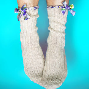 Alpaca Bed Socks - women's fashion