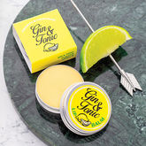 Gin And Tonic Lip Balm Gift - food & drink