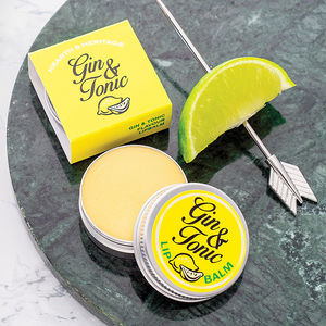 Gin And Tonic Lip Balm Gift - for friends
