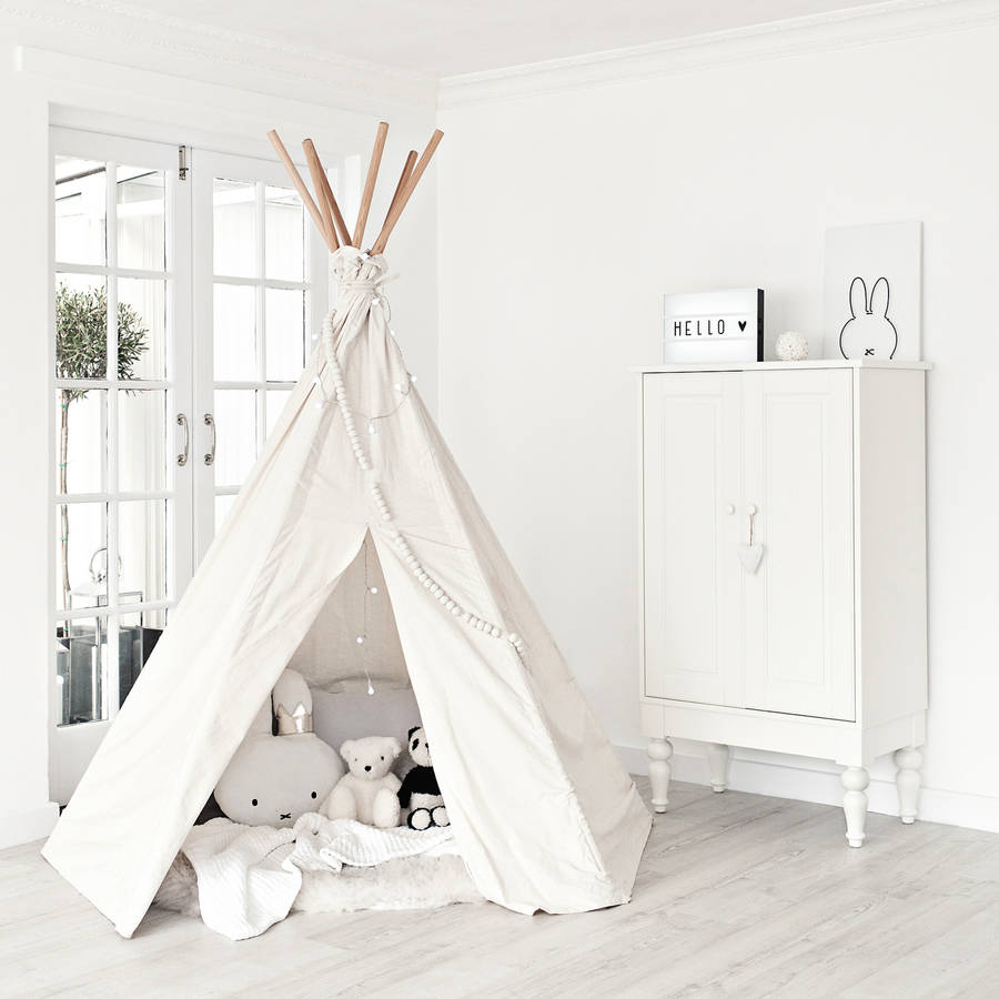 Big Moozle Teepee Tent Without Poles  sc 1 st  Notonthehighstreet.com & big moozle teepee tent without poles by moozle | notonthehighstreet.com