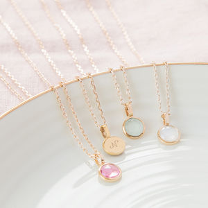 Personalised Bridesmaid Necklace - necklaces & pendants