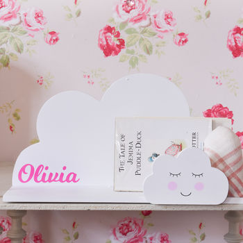 Personalised Nursery Cloud Shelf