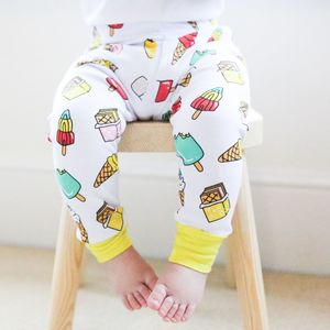 Yellow Lolly Leggings - trousers & leggings