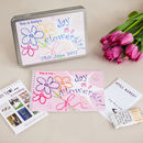 Personalised Flowergirl Wedding Activity Pack