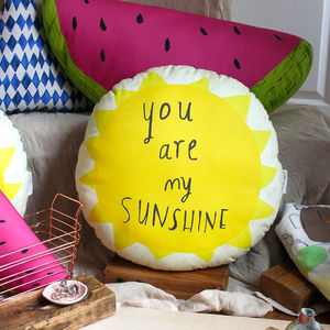 Sunshine Cushion - bedroom
