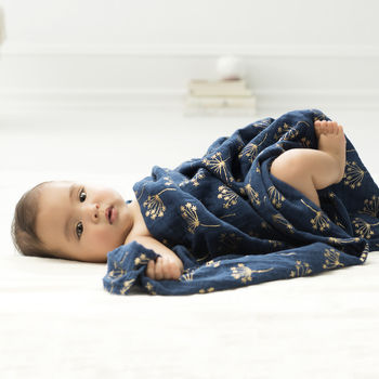 Trio Of Metallic Gold Classic Swaddles By Aden + Anais