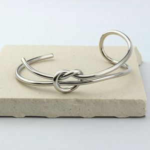 Assymetrical Infinity Cuff - winter sale