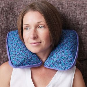 Liberty Print Cashmere Neck Cushion - eye masks & neck pillows