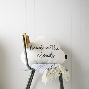 Large Cloud Cushion 'Head In The Clouds' - floor cushions & beanbags