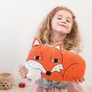 Fox Children's Nursery Cushion