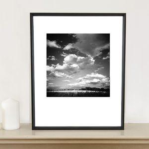 Cumulous Clouds Photographic Art Print